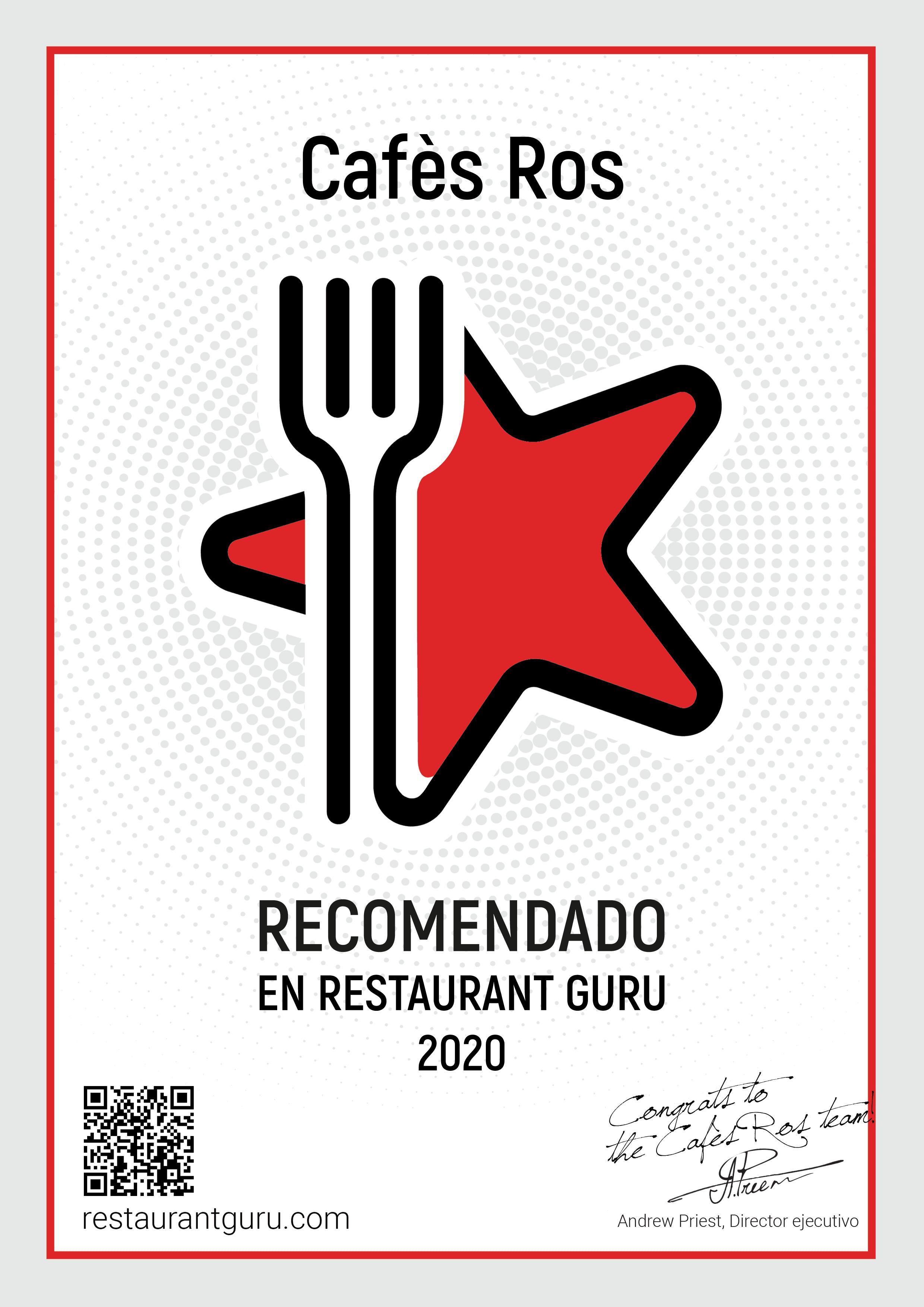 Recomendaciones y reconocimientos 2020