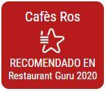 Recomendado en Restaurant Guru 2020